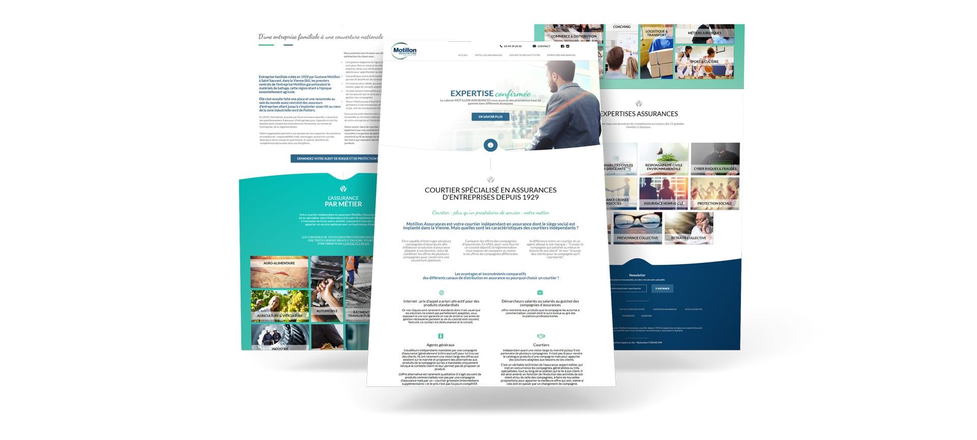 Motillon assurances cyberscope agence digitale web et - Cabinet de recrutement la roche sur yon ...