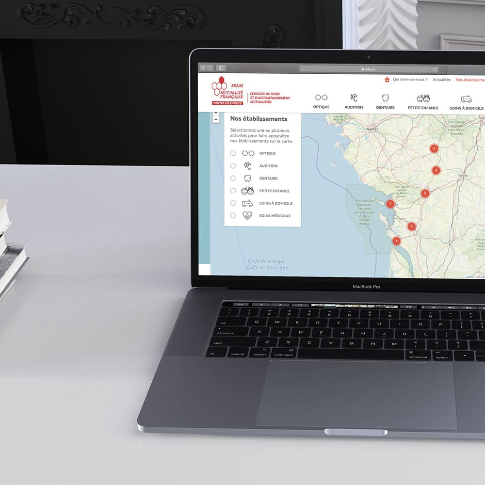 carte établissement mutualité française réalisation cyberscope
