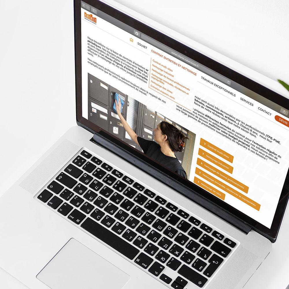 référencement seo naturel optimisation par cyberscope agence web