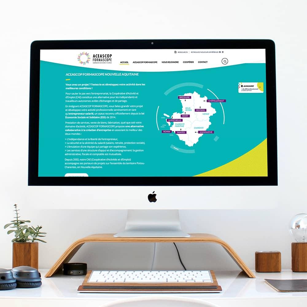 site web vue carte par cyberscope