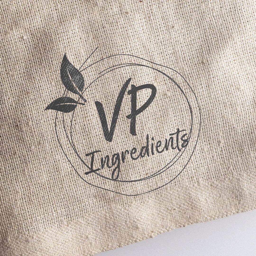 vp ingredients logo mockup